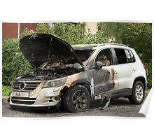 VW  arson Poster