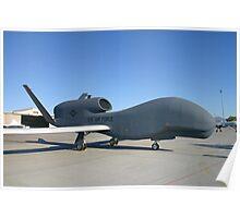 UAV Global Hawk Poster