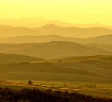 Hills At Dusk by diana1912