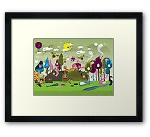 The Sloorp Universe Framed Print
