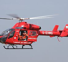 Londons air ambulance by mooneyes