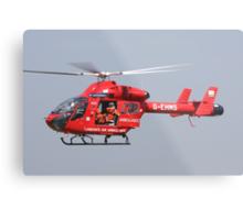 Londons air ambulance Metal Print
