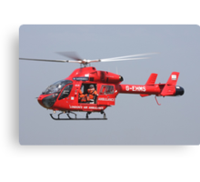 Londons air ambulance Canvas Print