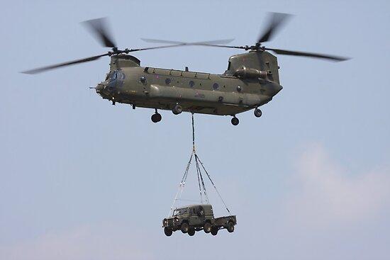 RAF Chinook by mooneyes