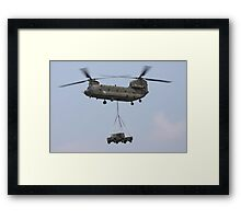 RAF Chinook Framed Print