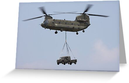 RAF Chinook by mooneyes