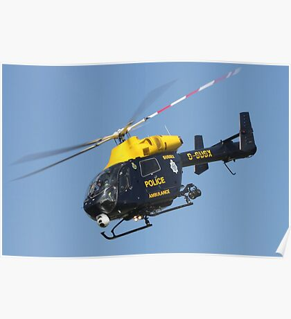 The Sussex police helicopter Poster