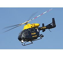 The Sussex police helicopter Photographic Print