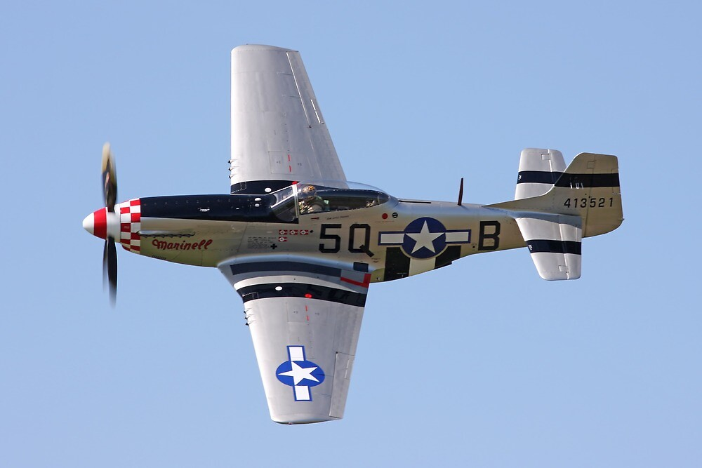 P51 Mustang by mooneyes