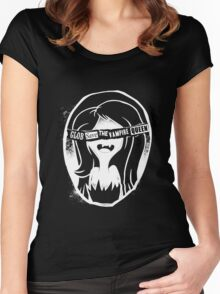 Glob save the vampire Queen Women's Fitted Scoop T-Shirt