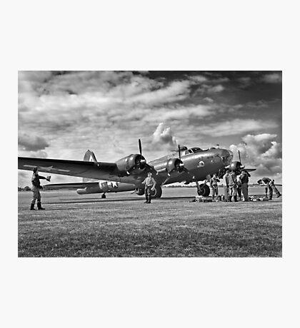 B17 WW2 Bomber Photographic Print