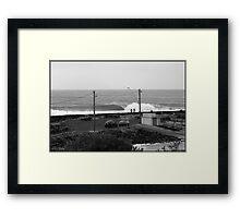 Fisho's Rock Framed Print