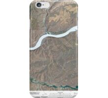 USGS Topo Map Washington State WA Starbuck East 20110405 TM iPhone Case/Skin