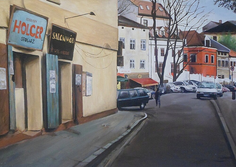 Polish Street by Cherise Foster