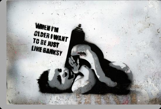 Banksy School by Respire
