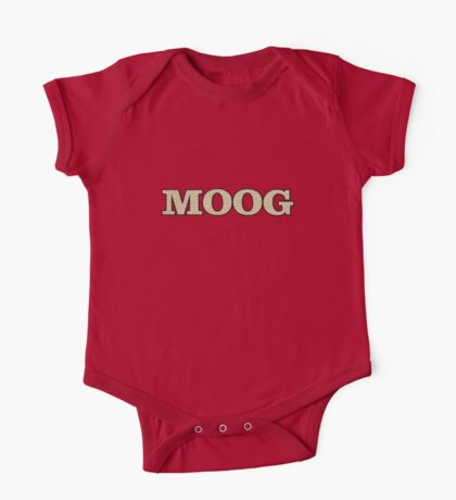 Vintage Moog One Piece - Short Sleeve