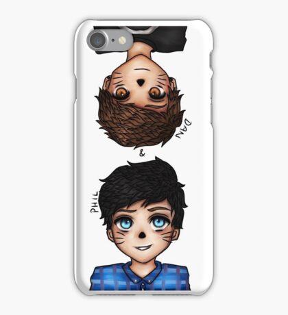 Anime Dan and Phil iPhone Case/Skin