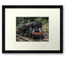 Steam Framed Print