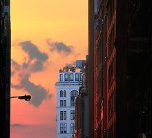 NEW YORK SUNSET by GDhillon