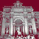 Trevi Fountain - Rome - Italy by Al Bourassa