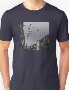 Shoe Tossing Unisex T-Shirt