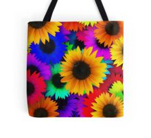 Sunflower-Power Tote Bag