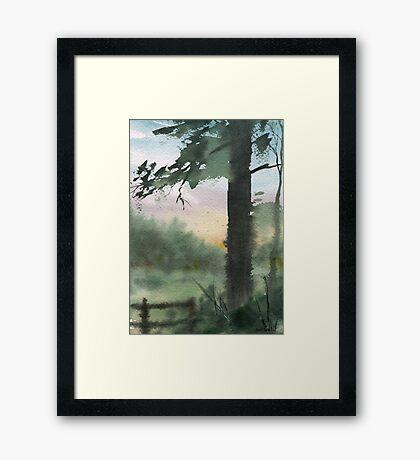 Plein Air 10 Framed Print