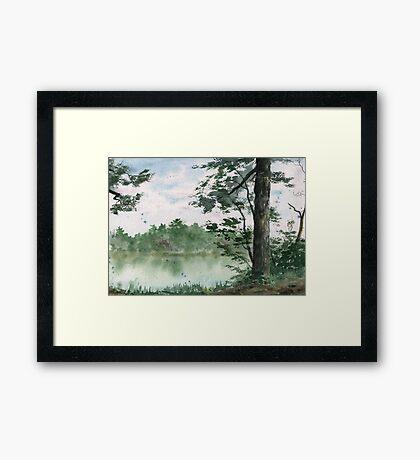 Plein Air 11 Framed Print