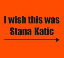 'I wish this was Stana Katic →' BLACK Kids Clothes