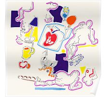 Night Drawings - Les Dessins de Nuit n°41  -  Heart(h) Poster