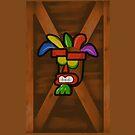 Aku Aku Mask Box by PJudge