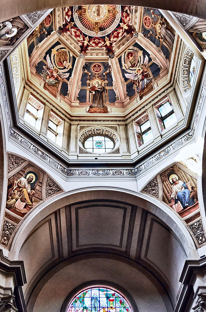 Santa Rosa's Church - Viterbo by Marco Borzacconi