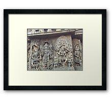 Hoysala sculpture Framed Print