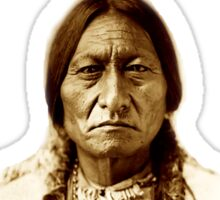 Sitting Bull, Chief, Battle, Little Bighorn, Hunkpapa, Lakota, Indian, Holy man, Sticker