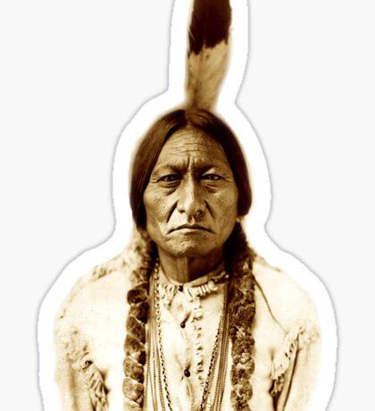 Sitting Bull, Chief, Battle, Little Bighorn, Hunkpapa, Lakota, Indian, Holy man, Sticker