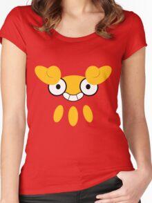 Pokemon - Darumaka / Darumakka Women's Fitted Scoop T-Shirt