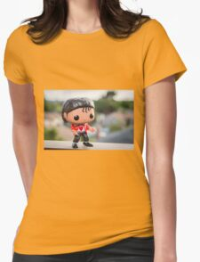 Beat it Womens Fitted T-Shirt
