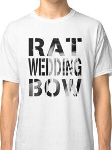Rat. Wedding. Bow. Classic T-Shirt