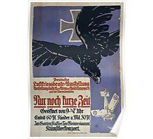 Nur noch kurze Zeit Deutsche Luftkriegsbeute Ausstellung 1226 Poster