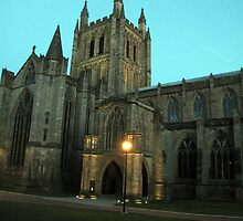 Hereford Cathedral (Portrait) by TedT