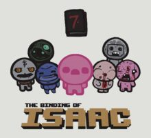 The Binding of Isaac - Sins by QuestionSleepZz