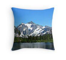 """North Cascades"" Throw Pillow"