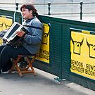 Amsterdam Busker by phil decocco
