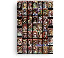 zombies 1-50 Canvas Print