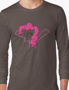 Pinkie is happy to see you ^^ Long Sleeve T-Shirt
