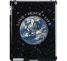 LOVE * PEACE * LIFE iPad Case/Skin