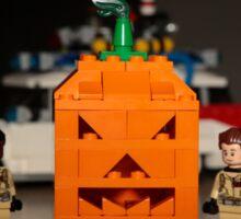 Ghostbusters Pumpkin Sticker