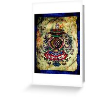 Eight Auspicious Symbols  Greeting Card