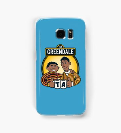 Greendale Street  Samsung Galaxy Case/Skin