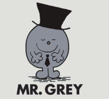 Mr Men - Mr Grey - 50 Shades of Grey by gemzi-ox